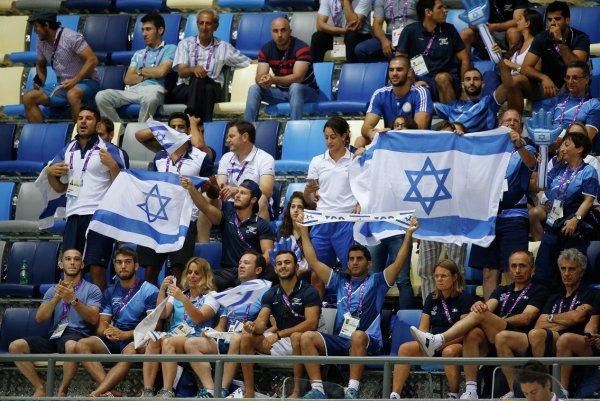Двух израильских болельщиков задержали в Москве