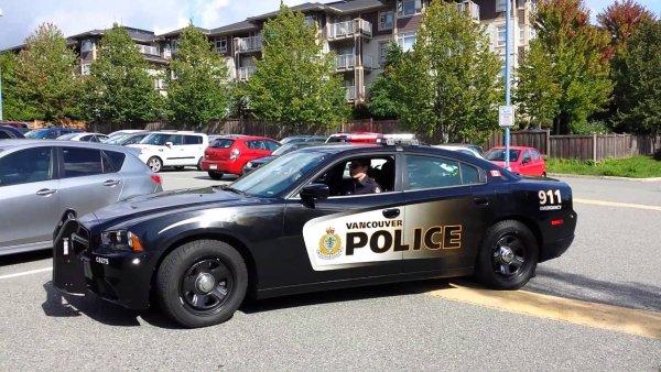 В Канаде налетчики устроили самую нелепую потасовку с полицейским