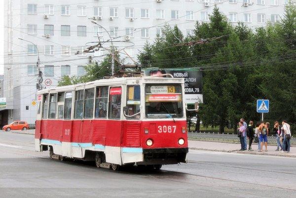 Колесо-диверсант едва не опрокинуло трамвай с пассажирами в Новосибирске