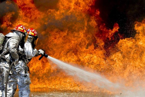 Пожар произошёл в Ижевске на башне «Ижмаша»