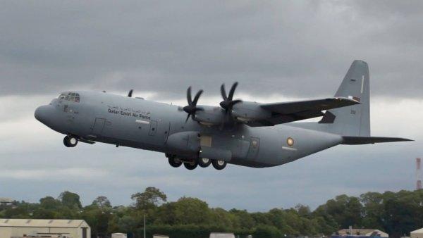 Британия потеряла в Ираке второй C-130J-30 Super Hercules