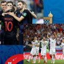 Россия - Хорватия: онлайн-трансляция четвертьфинала ЧМ-2018 по футболу