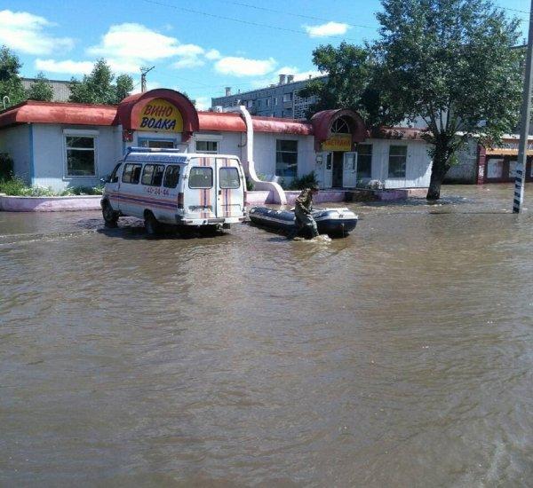 В Чите случилось самое масштабное наводнение за всю историю наблюдений