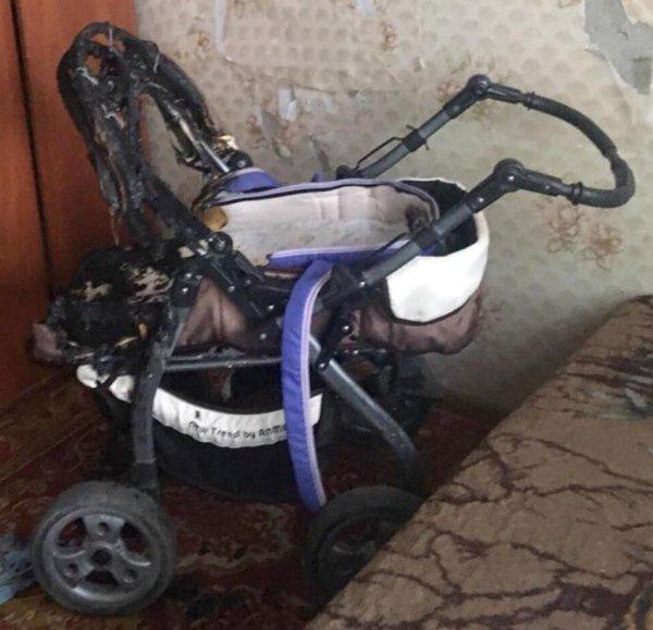 В Тамбове горе-мать спалила детскую коляску окурком сигареты