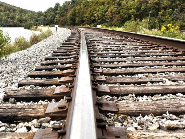 На севере Карелии с рельсов сошли 15 вагонов грузового поезда