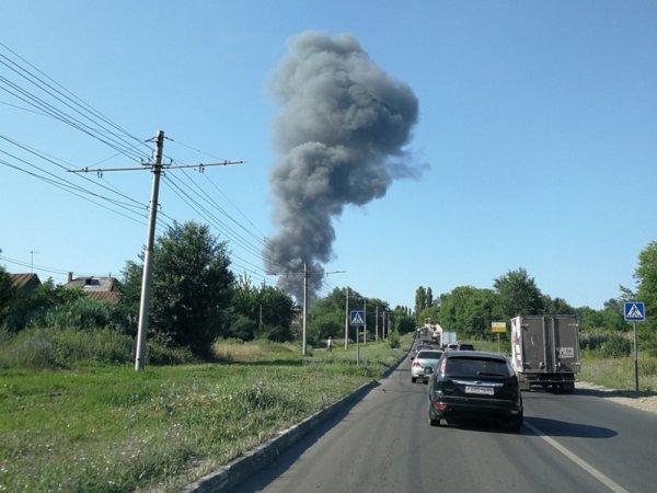 В Саратове произошел пожар на предприятии «Роскосмоса»