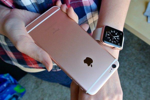 iPhone пережил падение из самолета