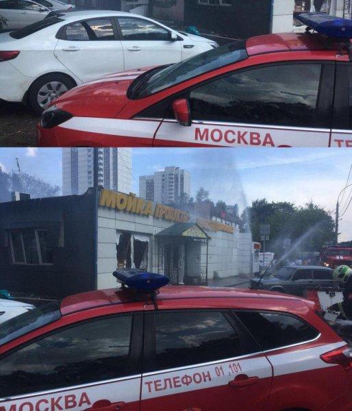 На северо-западе Москвы прогремел мощный взрыв, есть пострадавшие