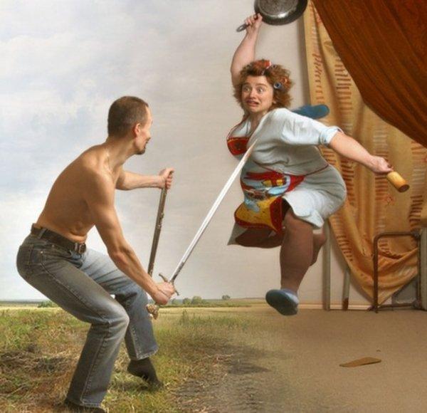 Во Владивостоке голый зять устроил тёще скандал