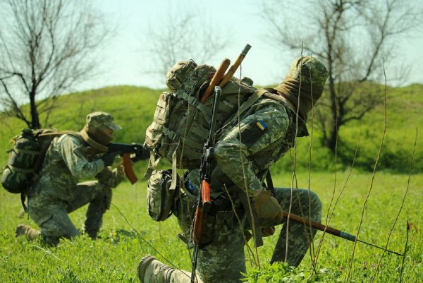 В Донбассе при неизвестных обстоятельствах погиб украинский каратель