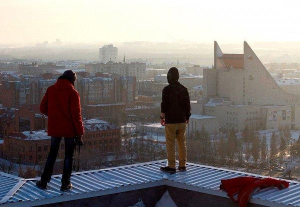 Подростки руферы играми на крыше шокировали Биробиджан