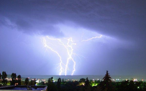 В Нижегородской области подросток скончался в результате удара молнии