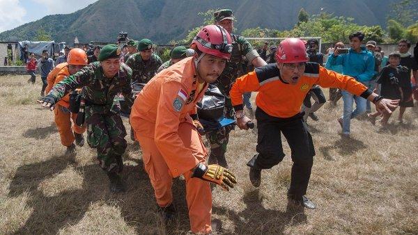 В результате землетрясения в Индонезии погибли 39 человек