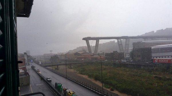 Масштабы трагедии эпохальны: Десятки человек погибли при обрушении моста в Генуе
