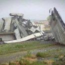 Названа вероятная причина обрушения моста в Генуе