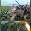 В Рязанской области пилот чудом выжил после жесткого падения частного вертолета