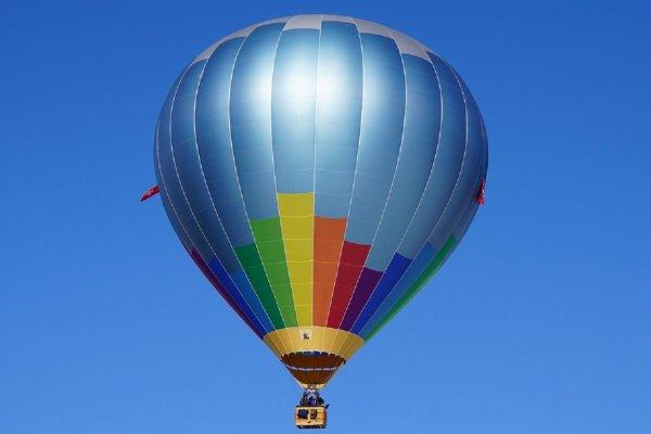 Упавший на автодорогу воздушный шар под Белгородом сняли на камеру