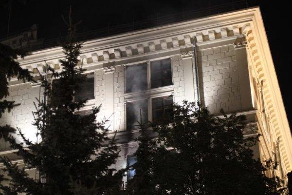 В Москве объявили о пожаре в Центробанке