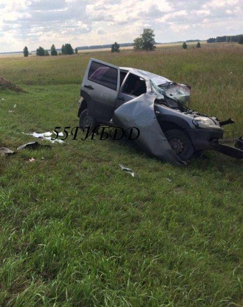 На «трассе смерти» в ДТП под Омском погиб очередной автомобилист