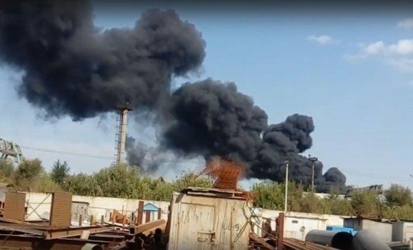 Во время пожара на заводе в Тольятти погибли двое рабочих
