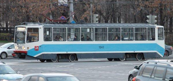 В Москве голую женщину заметили в трамвае в Сокольниках