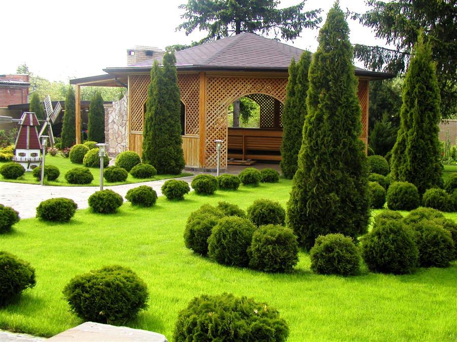 Ландшафтный дизайн как одна из самых популярных услуг на сегодняшний день