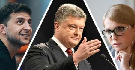 Владимир Зеленский вышел в лидеры президентской гонки на Украине