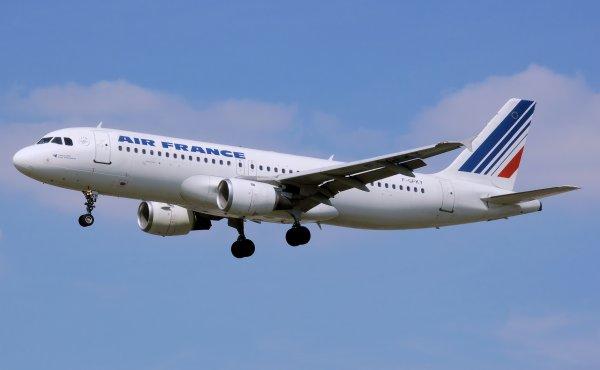 Самолет Air France не смог пролететь над Россией из-за отсутствия разрешения