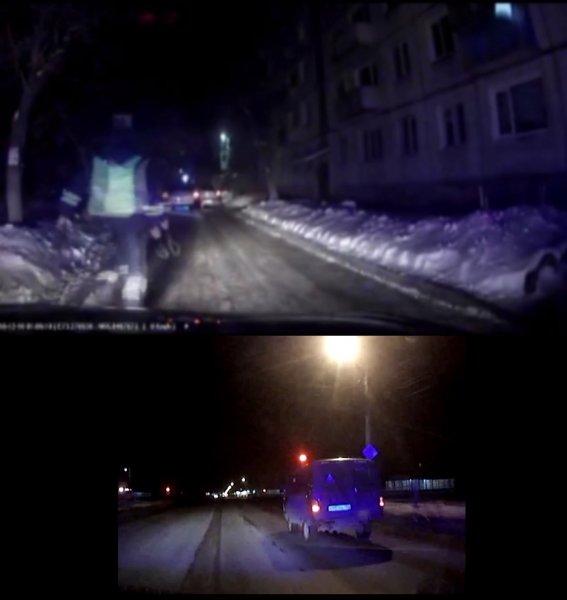 Во время погони за водителем внедорожника омские полицейские открыли огонь