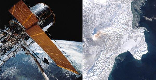 Спутник засёк аномалию в районе обрушения сопки под Хабаровском