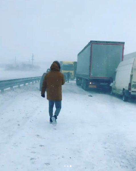 Масштабная авария парализовала М4 «Дон» в Ростовской области