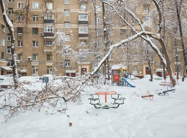 В Ростове дерево рухнуло на детскую площадку