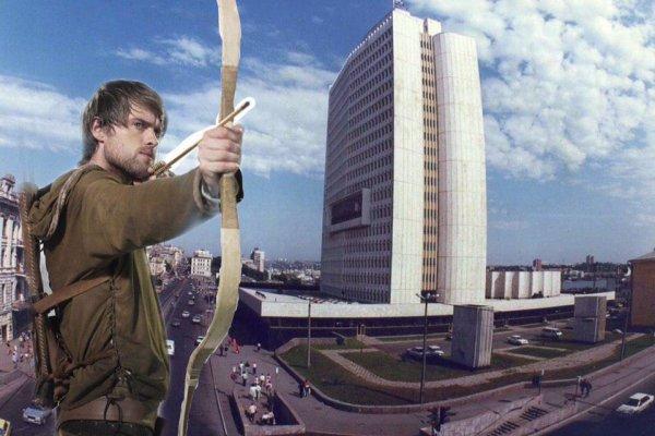 «Приморский Робин Гуд»: Во Владивостоке ищут человека, обстрелявшего здание мэрии