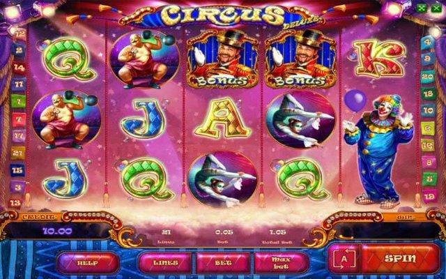 Игровой автомат Circus сделает вас богаче