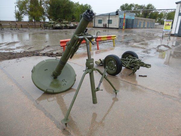 Три солдата ВСУ пострадали при взрыве миномёта «Молот»