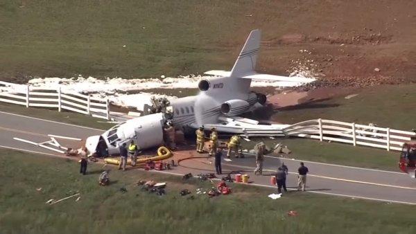 Два пилота погибли при посадке реактивного самолёта в США