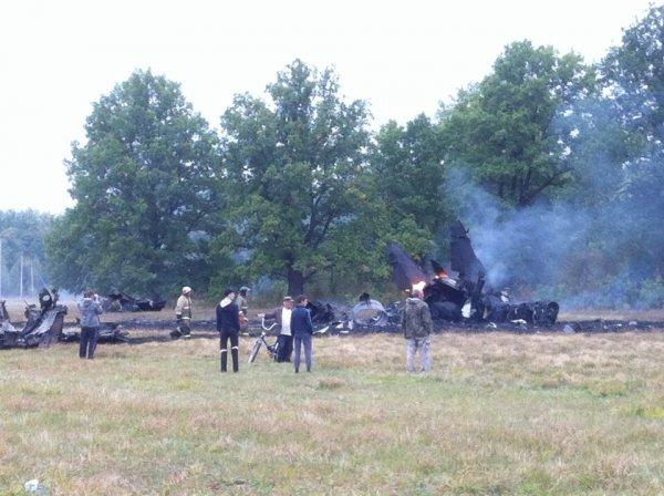 Озвучена причина крушения самолета МиГ-29 в Подмосковье