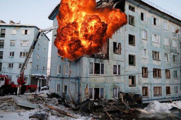 Безответственность управляющих компаний: Очередной взрыв газа произошёл в Ростовской области