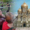 Храм на Крови: Россияне призывают остановить строительство в Екатеринбурге после стычек народа и полиции