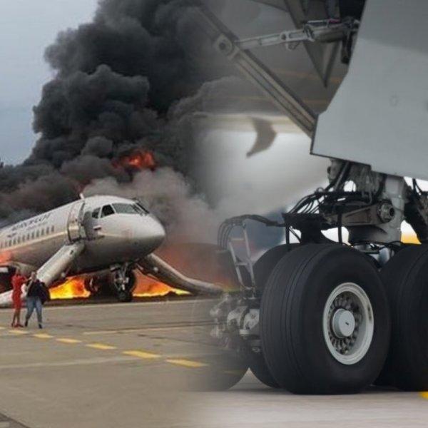 Еще один «Суперджет»? Самолет Ан-24 повредил шасси при посадке в Якутске