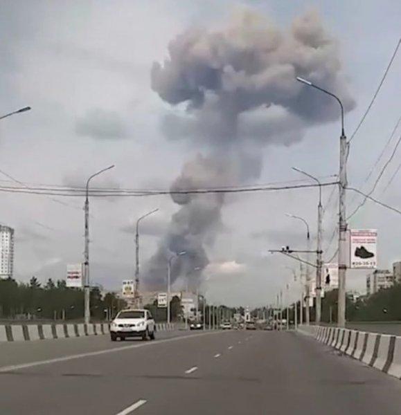 Два взрыва прогремели в тротиловом цеху на заводе в Дзержинске