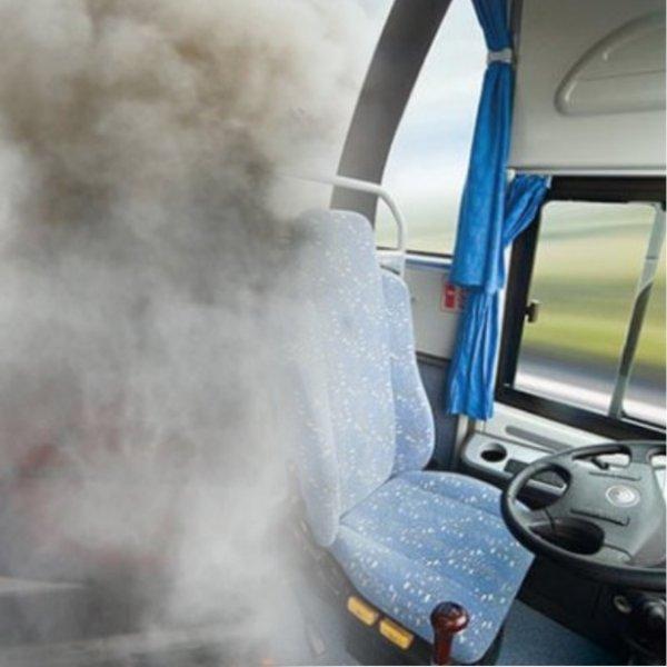 «От вашей красоты жарко»: Мосгортранс отшутился на вопрос о задымившемся автобусе