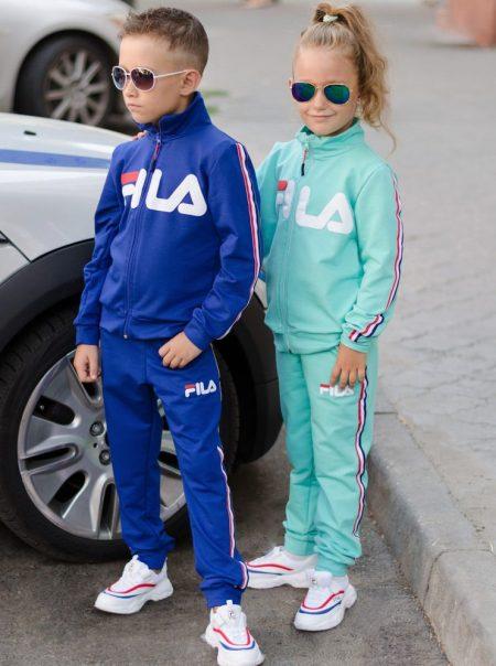 Детские спортивные костюмы на весну из Турции