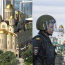 Голосование под дулом? В Екатеринбург контролировать референдум прибыли люди с автоматами