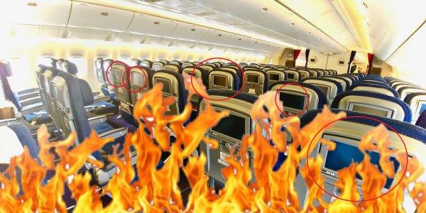 Опаснее «Суперджета»? Boeing 777 «России» испугал пассажиров опасно нагревающимися сидениями