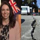 Землетрясение в Новой Зеландии попало в прямой эфир