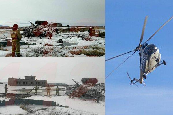 Два крушения Ми-8 за неделю показывают необходимость в модернизации вертолётов