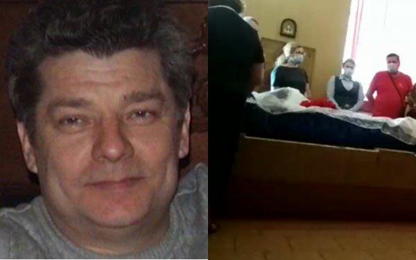 Пожилая мать простилась с Сергеем Захаровым, умершим после ДТП с Ефремовым
