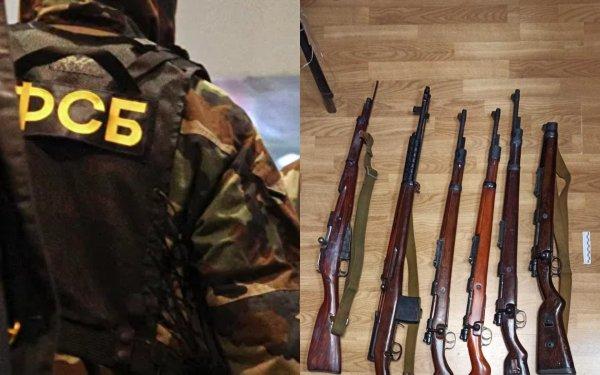 Жителя Калининградской области «разоружили» на 17 пистолетов, 2 АК-47 и 6 винтовок